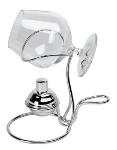 World Cuisine 41678-14 Aerial Digestif Brandy Warmer, Palladium