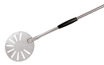 World Cuisine 41737-23 Pizza Peel, 9 x 59-in,  Slotted, Stainless Steel