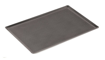 "World Cuisine 41753-60 Baking Sheet, 15.75 x 23-5/8"", Perforated, Silicone Coated"