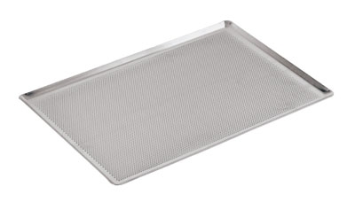 World Cuisine 41756-53 Baking Sheet, 2/1-GN, Perforated, Aluminum