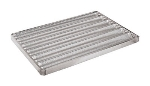 World Cuisine 41758-85 Baguette Pan, 25.5 x 33.5-in, Perforated, Aluminum