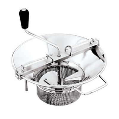 World Cuisine 42574-37 Food Mill, 8-qt Capacity, Stainless Steel