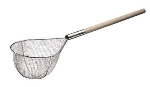World Cuisine 42636-32 Over Sized Strainer, 12.5 x 23-5/8-in, Tinned Steel