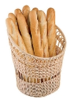 World Cuisine 42967-35 Baguette Basket, 13.75 x 16.5-in, Polyrattan