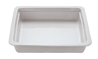World Cuisine 44333-06 Hotel Food Pan, 2/3-Size, 2.5-in Deep, Porcelain