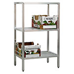 "New Age 1045 36"" Heavy-duty Shelving Unit w/ 1500-lb Capacity, Aluminum"