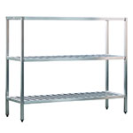 "New Age 1048TB 72"" Heavy-duty Shelving Unit w/ 1000-lb Capacity, Aluminum"
