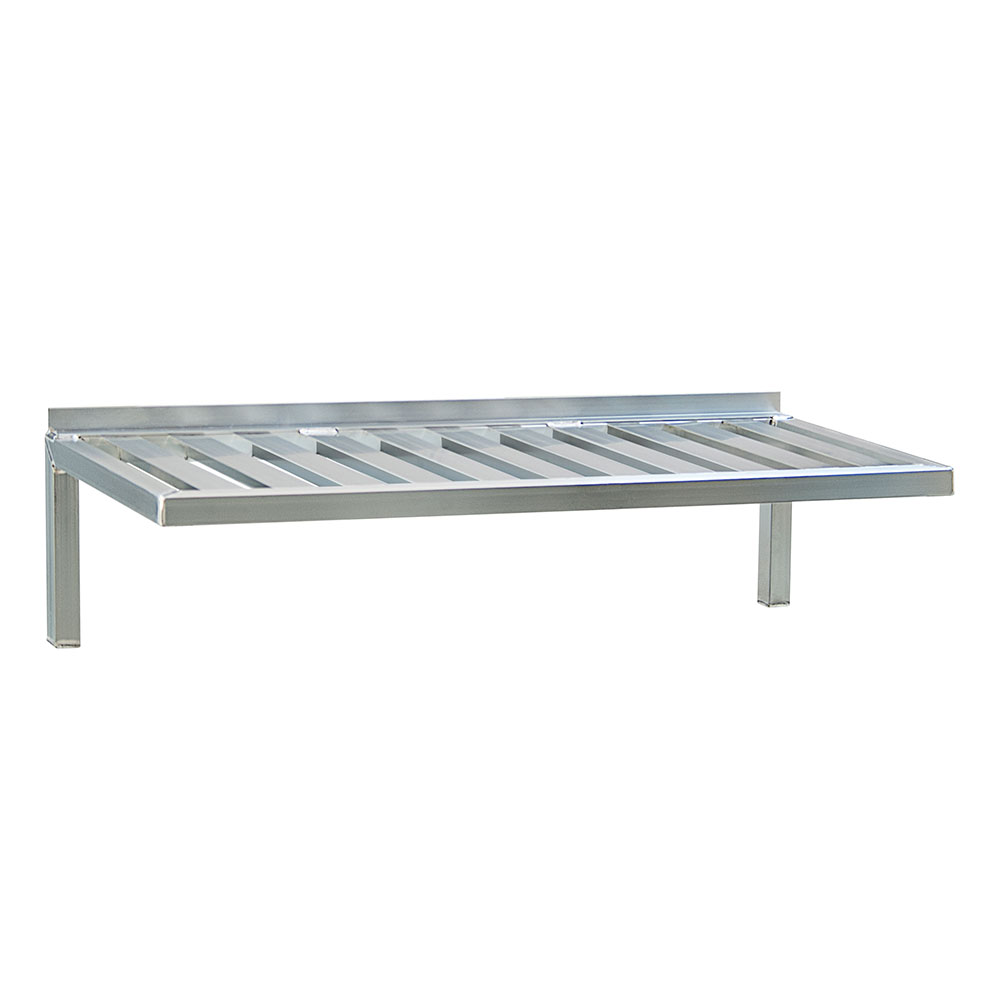 "New Age 1122 48"" Slatted Wall Mounted Shelving"