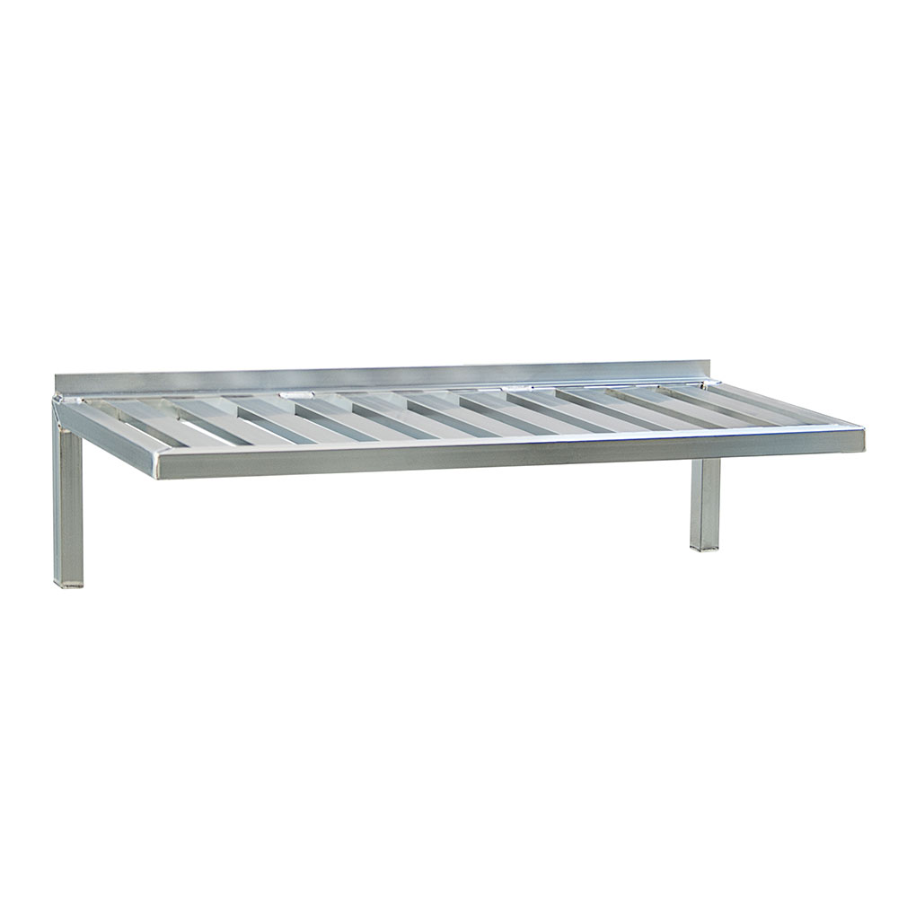 """New Age 1124 60"""" Slatted Wall Mounted Shelving"""