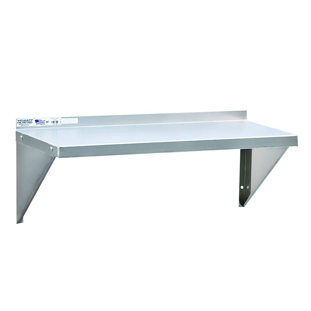 """New Age 1126A 48"""" Solid Wall Mounted Shelving"""