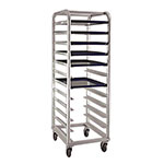 "New Age 1164 21""W 12-Platter Pan Rack w/ 5"" Bottom Load Slides"