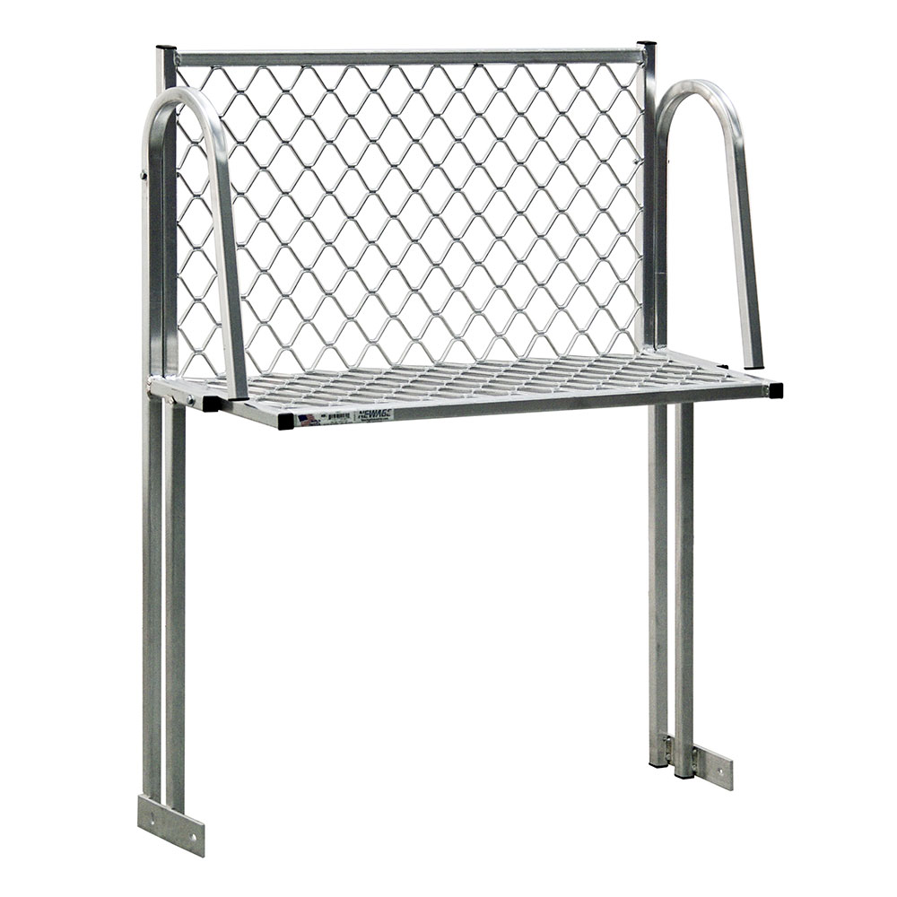 "New Age 120T Table Mount Boat Rack w/ Mounting Brackets & Hardware, 36x15"", Aluminum"