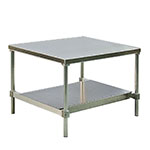 "New Age 12436GSU 36"" x 24"" Stationary Equipment Stand for General Use, Undershelf"
