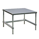 "New Age 12472GS 72"" x 24"" Stationary Equipment Stand for General Use, Open Base"