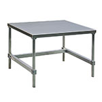 "New Age 13036GS 36"" x 30"" Stationary Equipment Stand for General Use, Open Base"