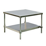 "New Age 13048GSU 48"" x 30"" Stationary Equipment Stand for General Use, Undershelf"