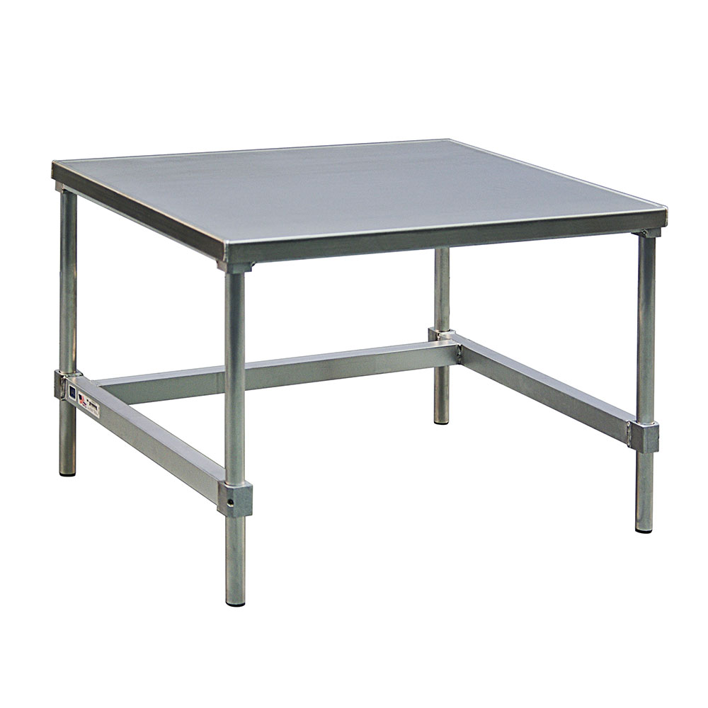 "New Age 13072GS 72"" x 30"" Stationary Equipment Stand for General Use, Open Base"