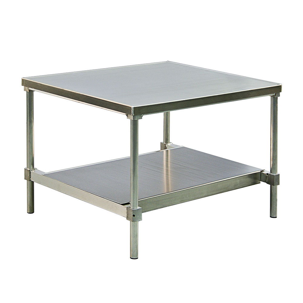 """New Age 13072GSU 72"""" x 30"""" Stationary Equipment Stand for General Use, Undershelf"""