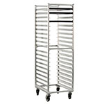 "New Age 1331 Mobile Full Height Pan Rack w/ Open Sides & (20)18x26"" Pan Capacity, Aluminum"
