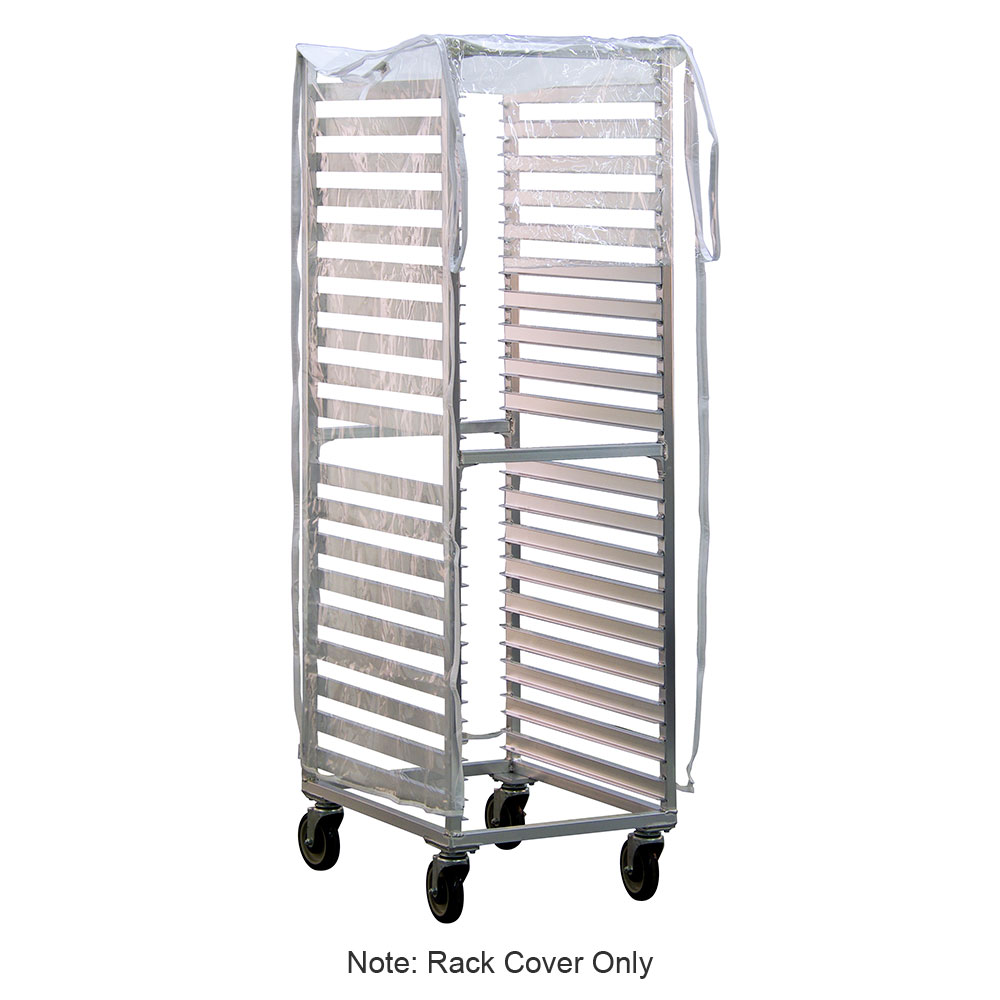 New Age 1359 Rack Cover w/ 2-Zippers, End Loading, Heavy Duty Vinyl