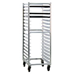 "New Age 1361 20.38""W 17-Bun Pan Rack w/ 3"" Bottom Load Slides"