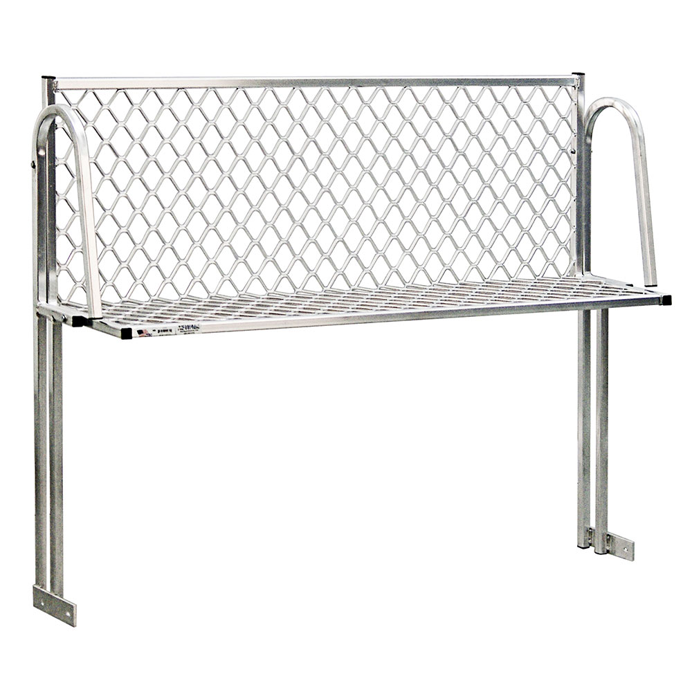 "New Age 1372T Table Mount Boat Rack w/ Mounting Brackets & Hardware, 60x15"", Aluminum"