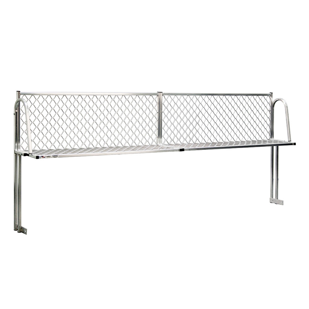 """New Age 1374T Table Mount Boat Rack w/ Mounting Brackets & Hardware, 96x15"""", Aluminum"""