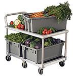 New Age 1410 Wet Produce Cart w/ 1000-lb Capacity