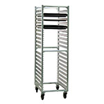 "New Age 1461 Mobile Full Height Pan Rack w/ (38)18x26"" Pan Capacity & End Loading Aluminum"