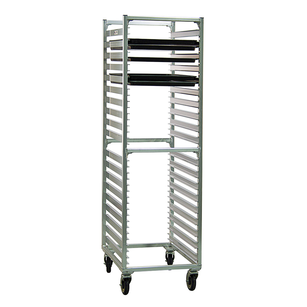 New Age 1461 20.69W 38-Bun Pan Rack w/ 1.5 Bottom Load Sl...