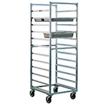 "New Age 1507 Full Height Steam Table Pan Rack, Open Sides, (24)12x20"" Pan Capacity Aluminum"