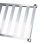 New Age 1554TB Aluminum T-Bar Shelf - 15x54""