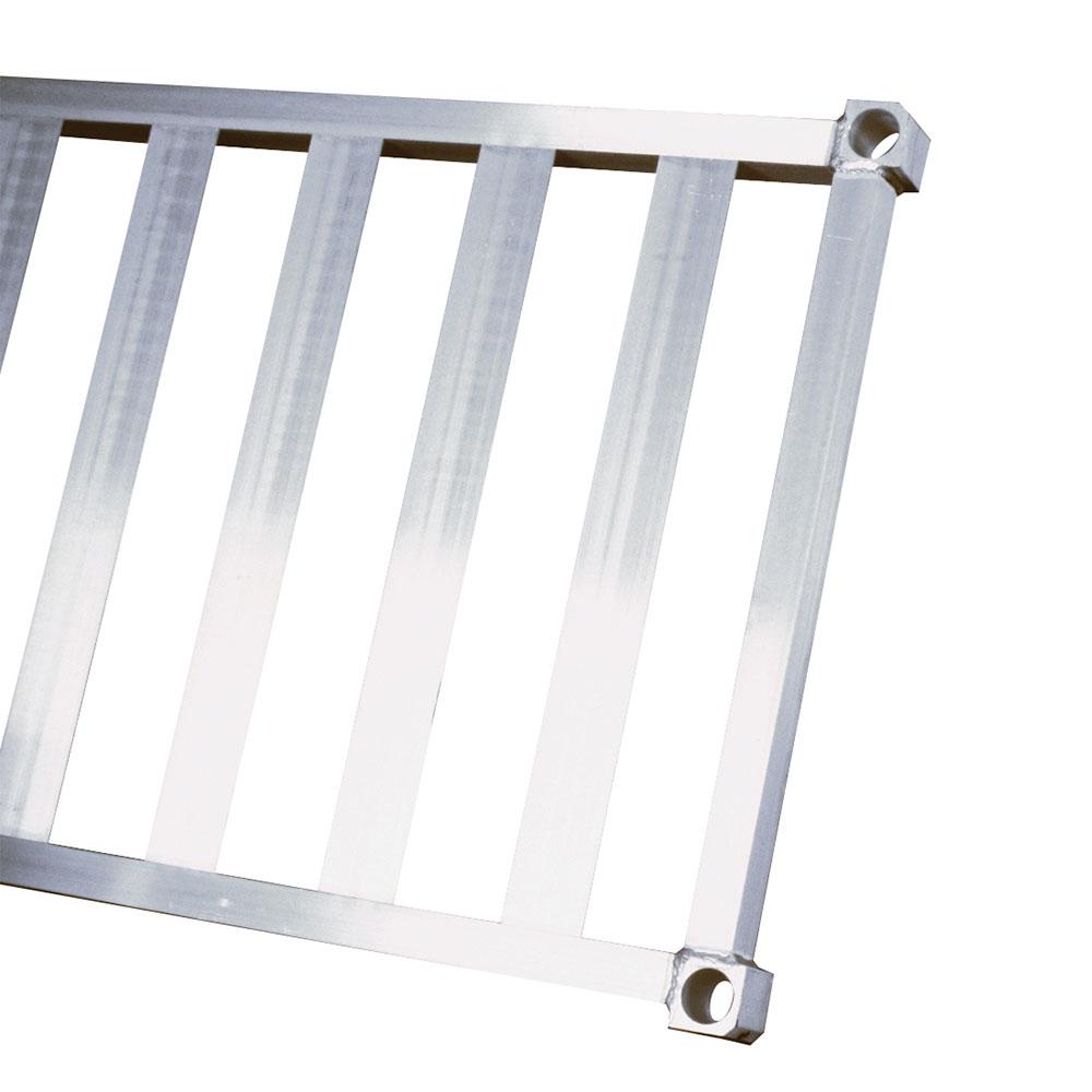 "New Age 1566TB Aluminum T-Bar Shelf - 15x66"""