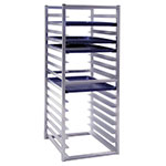 "New Age 1612 51"" Insert Rack w/ Open Sides, (16)18x26"" Pan Capacity, End Loading Aluminum"
