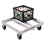 New Age 1622 Dolly for Milk Crates w/ 16-Crate Capacity