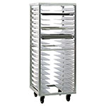 "New Age 1637 24.5""W 18-Sheet Pan Rack w/ 3"" Bottom Load Slides"