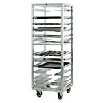 "New Age 1650 24.5""W 12-Sheet Pan Rack w/ 4.5"" Bottom Load Slides"