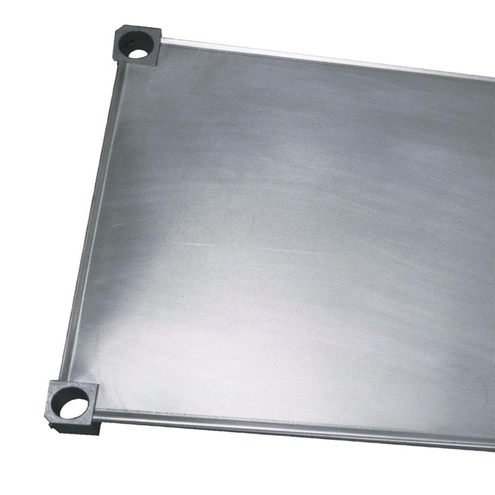 "New Age 1830S Aluminum Solid Shelf - 18x30"""