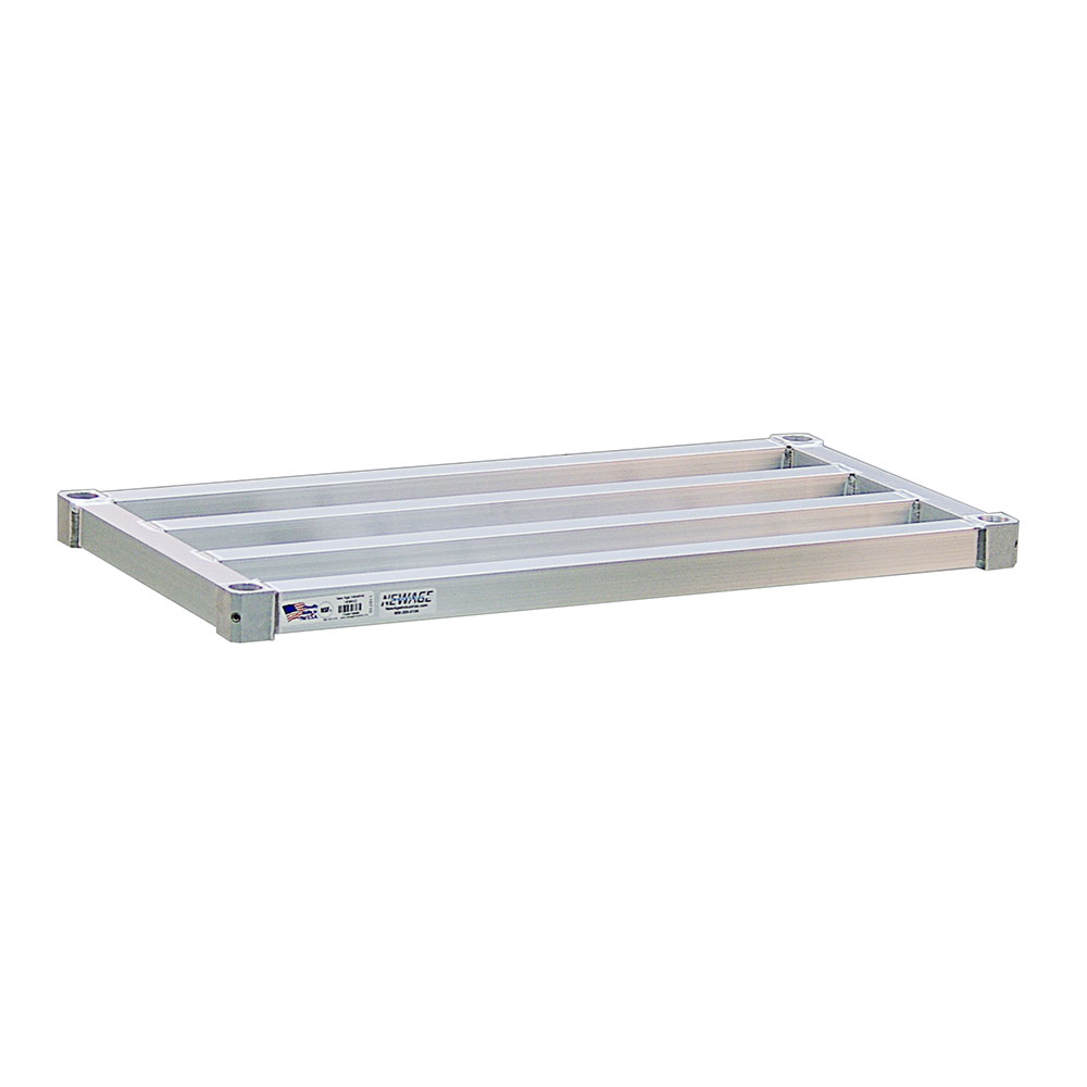 "New Age 1836HD Aluminum Tubular Shelf - 18x36"""