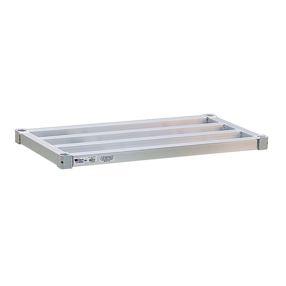 "New Age 1854HD Aluminum Tubular Shelf - 18x54"""