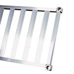 "New Age 1866TB Aluminum T-Bar Shelf - 18x66"""