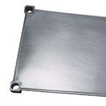 "New Age 2048S Aluminum Solid Shelf - 20x48"""