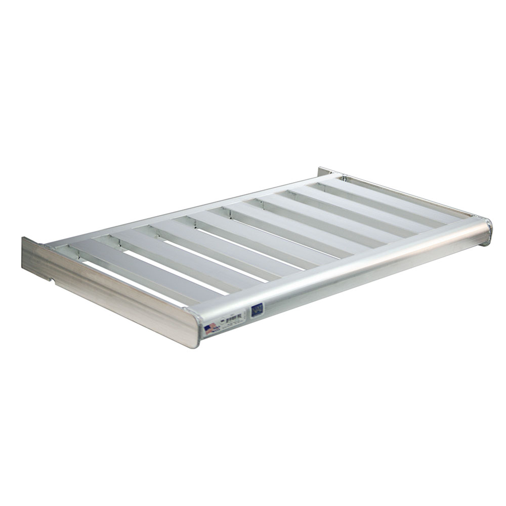"""New Age 2532 42"""" Slatted Wall Mounted Shelving"""