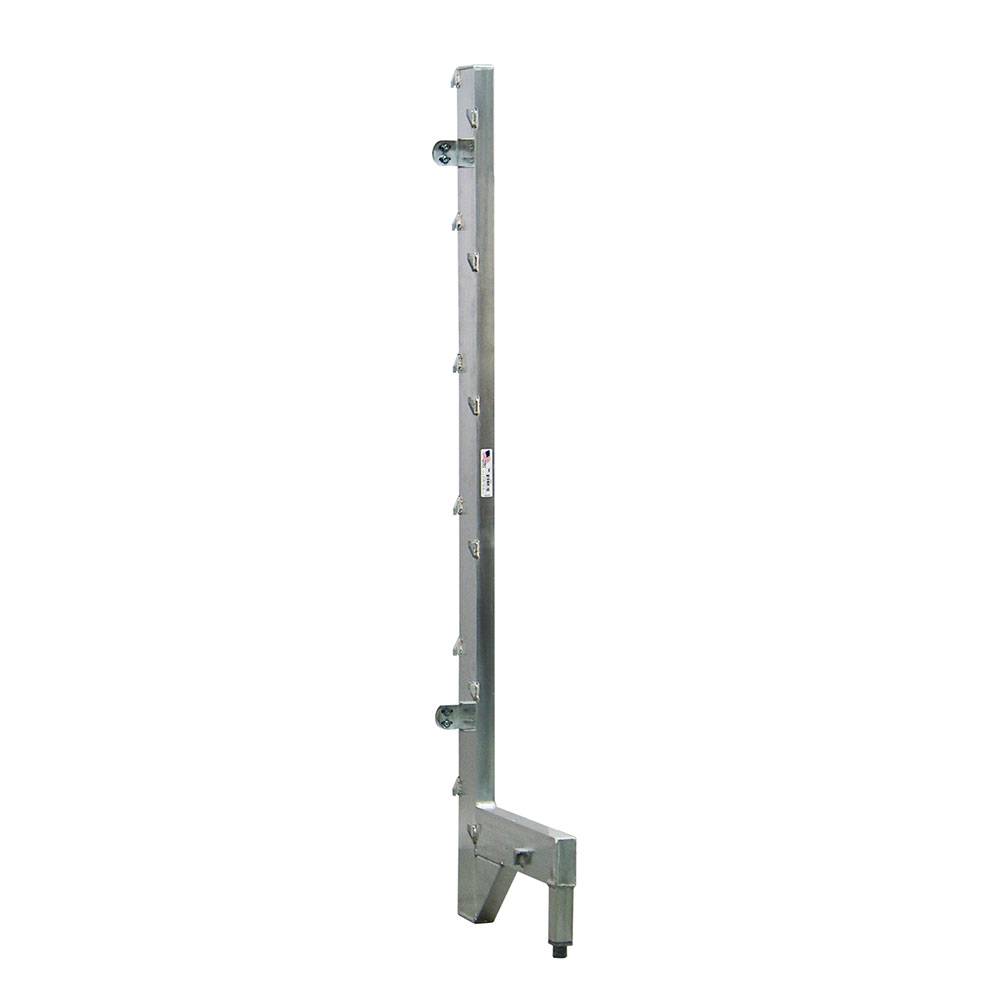 """New Age 2563 21"""" Right Upright for 18"""" Cantilever Shelving"""