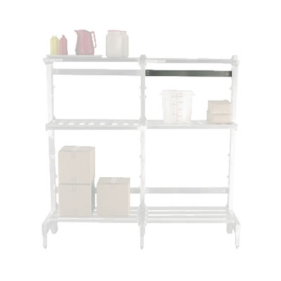 """New Age 2582 42"""" Horizontal Brace for 2-For Cantilever Shelving"""
