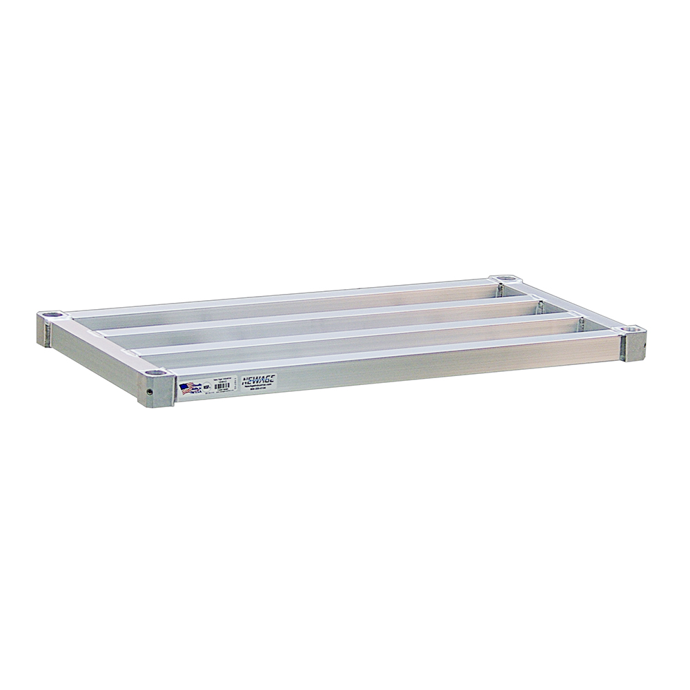 "New Age 3048HD Aluminum Tubular Shelf - 30x48"""