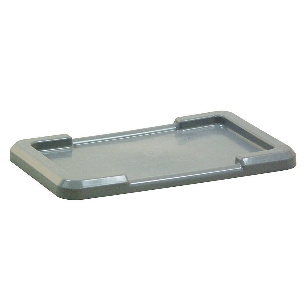 New Age 0361 Lug Lid For RGY-16825, Gray, Polyethylene