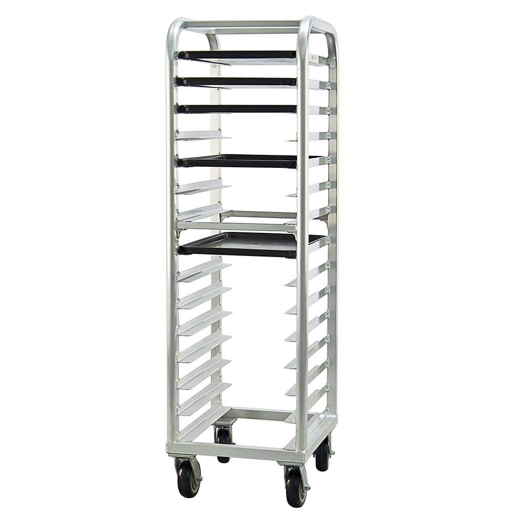 New Age 4332 21.5W 15-Bun Pan Rack w/ 4 Bottom Load Slides
