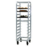 "New Age 4333 21.5""W 12-Bun Pan Rack w/ 5"" Bottom Load Slides"