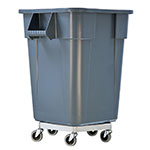 New Age 50125 Round Metal Trash Can Dolly w/ Raised Center & 125-lb Capacity